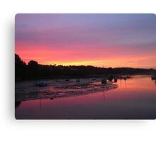 Sunrise in Penryn Canvas Print
