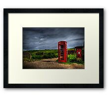 iPhoneBox or iSnailMail? Framed Print