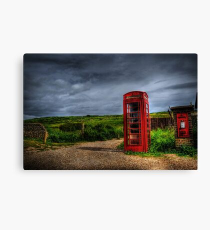 iPhoneBox or iSnailMail? Canvas Print