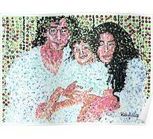 John and Yoko and Baby Poster