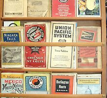 Authentic Train Brochures - Early 1900s by Chris Chalk