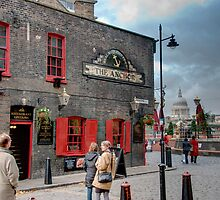 The Anchor Pub: The Southbank, London, UK. by DonDavisUK