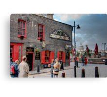 The Anchor Pub: The Southbank, London, UK. Canvas Print