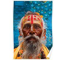 Saddhu, Jaisalmer, India Poster