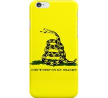 DON'T STEP ON MY SNAKE!!! iPhone Case/Skin