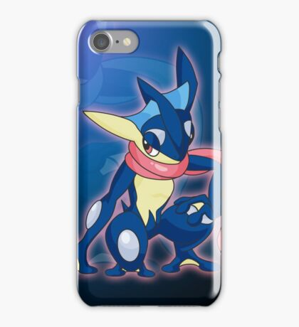 Blue Ninja iPhone Case/Skin