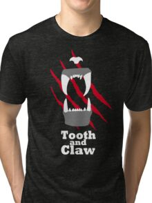 Tooth and Claw Tri-blend T-Shirt
