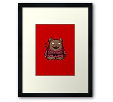 Radical Rat Framed Print