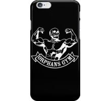 Orphans gym (old father iron) white iPhone Case/Skin