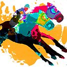 Horse Racing by Ginny Luttrell