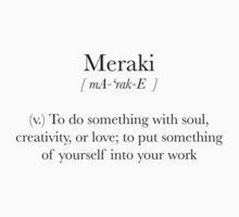 Meraki by Eunoia
