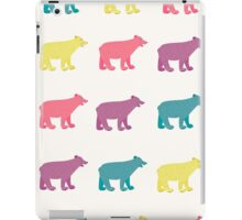 Colorful bears iPad Case/Skin