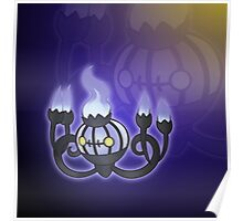 The Purple Chandelier   Poster