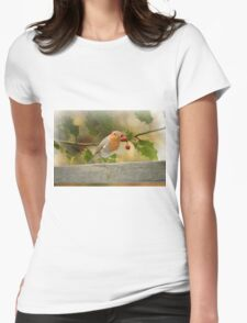 Wonderful Christmas time` Womens Fitted T-Shirt