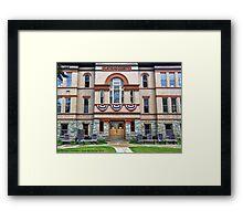 Courthouse Framed Print