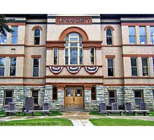 Courthouse Photographic Print