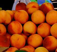 Peaches by Chrissy Edye