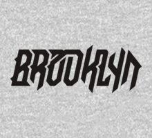 Brooklyn [Black] Kids Tee