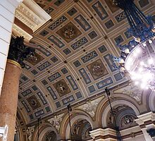 Ceiling, St Georges Hall, Liverpool by artfulvistas