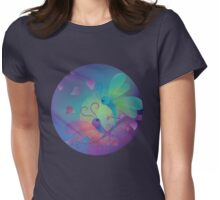 Fall in Love / Dragonfly Womens Fitted T-Shirt