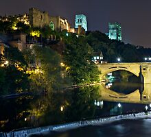 The Bishop's Fort, Durham Castle. County Durham. UK by David Lewins