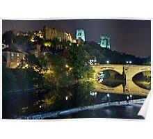The Bishop's Fort, Durham Castle. County Durham. UK Poster