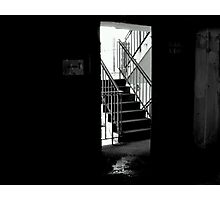 stair case out of here Photographic Print