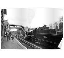 Departing Bewdley Poster