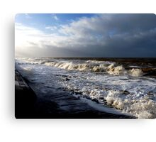 Gales on the Irish Sea!! Canvas Print