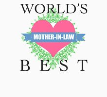 World's Best Mother-In-Law Womens Fitted T-Shirt