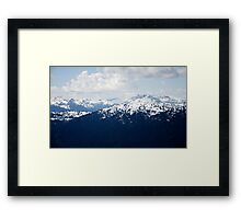 Moutainscape Framed Print