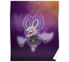 Lavender Bat  Poster