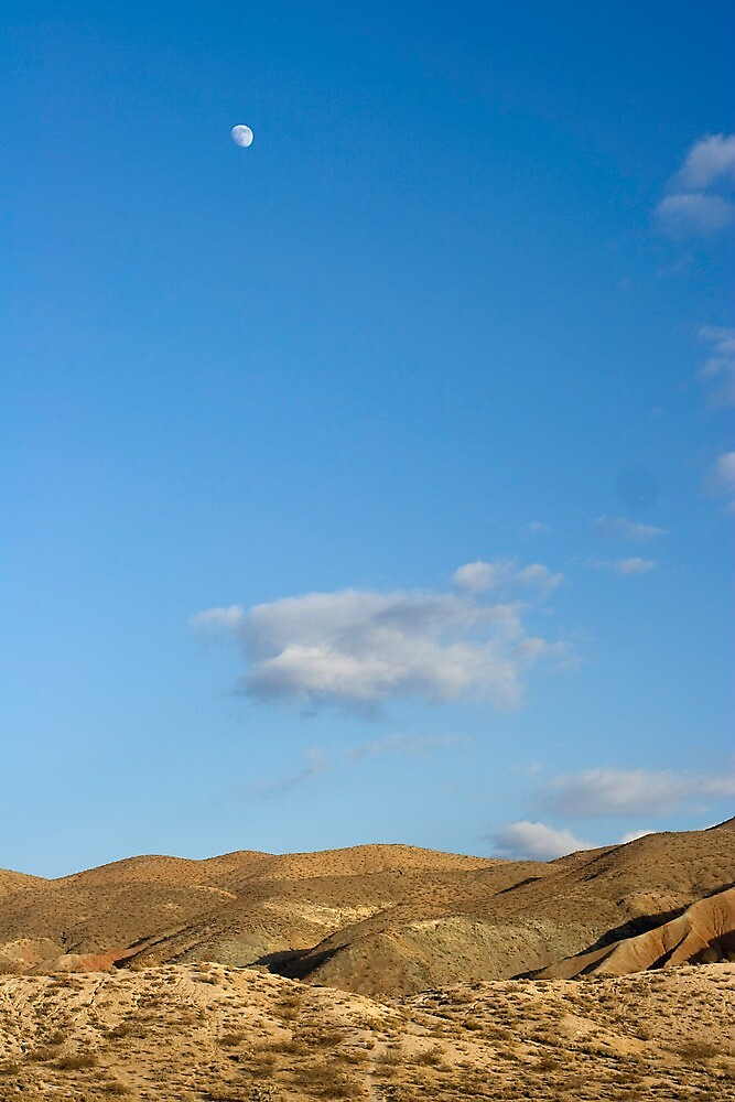 El Paso Mountains, Mojave Desert, California by Chris Clarke