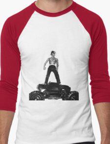 Travis Scott Action Figure Men's Baseball ¾ T-Shirt