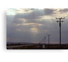 Route 58 at Boron, California Canvas Print