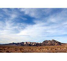 Marble Mountains, Cadiz, California Photographic Print