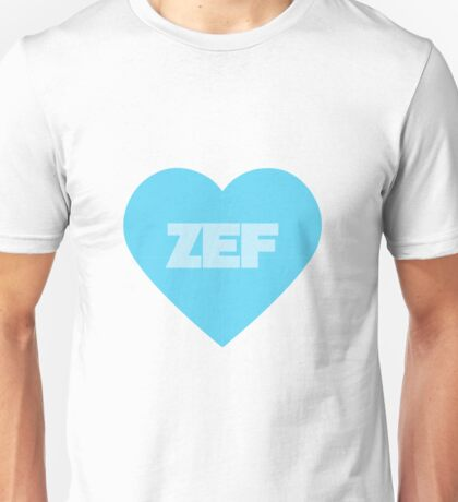 ZEF - Blue Version Unisex T-Shirt
