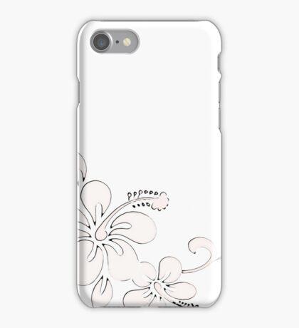 Hawaiian Flower  iPhone Case/Skin