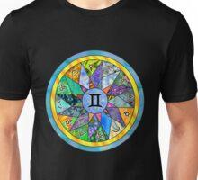 GEMINI Tapestry of Life Mandala Unisex T-Shirt