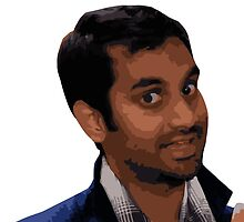 Tom Haverford by DLUTEDDESIGN