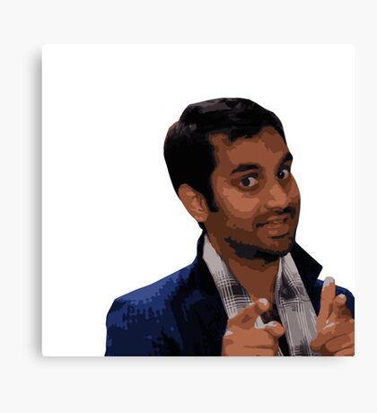 Tom Haverford Canvas Print