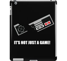 its not just a game! iPad Case/Skin
