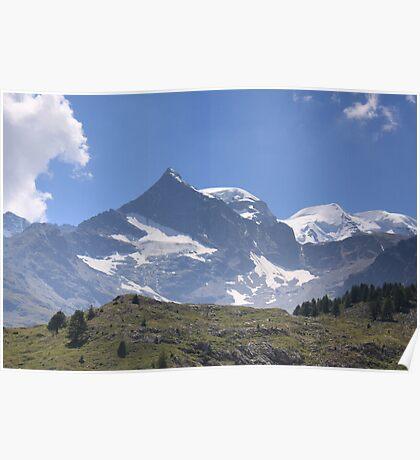 Fluella Pass, Switzerland Poster