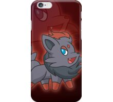 Charcoal Fox iPhone Case/Skin