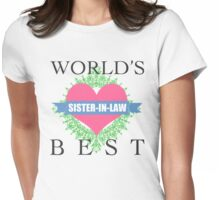 World's Best Sister-In-Law Womens Fitted T-Shirt