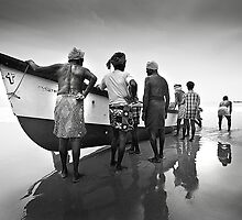 Kerala Fishermen by Rob Dougall