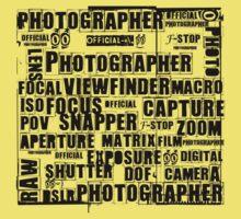 Photographer T-shirt Kids Clothes