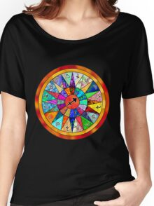 SAGITTARIUS Tapestry of Life Mandala Women's Relaxed Fit T-Shirt