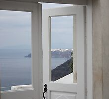 the door to the greek islands by Leah Gay