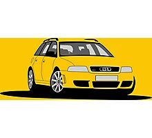 Audi RS4 Avant B5 Photographic Print